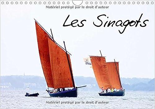 Téléchargement Les sinagots : Photos d'anciens bateaux de pêche du début du XXe siècle. Calendrier mural A4 horizontal 2016 pdf, epub ebook