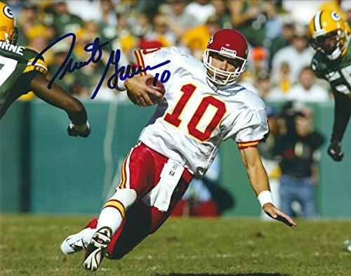Autographed Trent Green 8x10 Kansas City Chiefs (Green Autographed Photo)