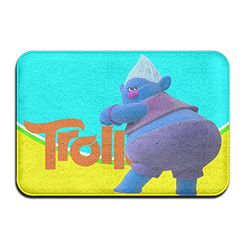 Troll Characaters Mr Biggie Throw Rug 23.5 x 15.5 Inches