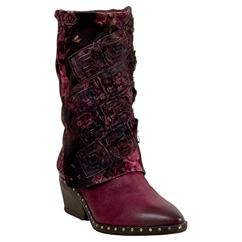 A.S.98 Suffield Womens Cowboy Boot Plum