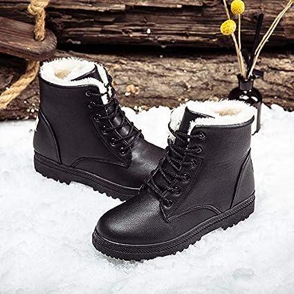 b6dca2e4a84 Image Unavailable. Image not available for. Color  Best Quality Hah Plus  Size Women Casual Platform Fuax Fur Ankle Boots Winter Female ...