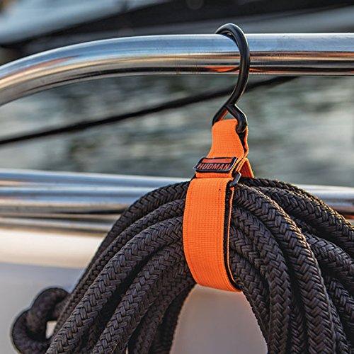 Hudman Works Strap & Hook XL, Bright Orange, 50'' by Hudman Works (Image #5)