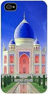 Taj Mahal Color - For SamSung Galaxy S6 Phone Case Cover Universal- Hard White Plastic