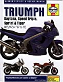 Triumph Daytona. Speed Triple. Sprint and Tiger Service and Repair Manual: 1997 to 2005 (Haynes Service and Repair Manuals) by Coombs. Matthew ( 2006 ) Hardcover