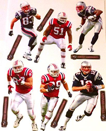New England Patriots Fathead NFL Team Set - Brady, Welker, Woodhead, Mayo, Gronkowski, McCourty
