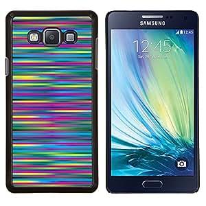 Stuss Case / Funda Carcasa protectora - Rayas Colores azul del trullo - Samsung Galaxy A7 ( A7000 )