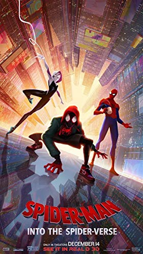 SPIDER-MAN INTO THE SPIDER-VERSE MOVIE POSTER FILM A4 A3 ART PRINT CINEMA