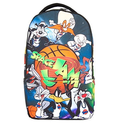 Warner Brothers Looney Toons Space Jam Laptop Backpack, For Machines up to 16in ()