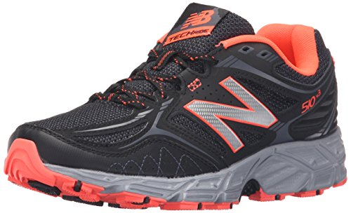 New Balance Womens WT510V3 Trail Shoe Black/Dragonfly