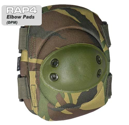 Elbow Pads (British Disruptive Pattern Material - DPM) - paintball elbow pads