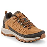 Yellow Shoes - SADDLEPEAK - Mens Leather Athletic Hiking Outdoor Shoes