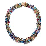 Jewels to Jet Monet Multi Color Bead Chunky Magnetic Clasp Necklace