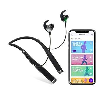 Auriculares Bluetooth Harman Kardon con Inteligencia Artificial Vi, Entrenador Personal y Monitor de Fitness, medición de Ritmo cardíaco, Sonido prémium, ...