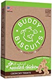 Cloud Star Buddy Biscuits Crunchy Itty Bitty Oven Biscuits Dog Treats with Natural Chicken & Carrots 8 oz (Pack of 6)