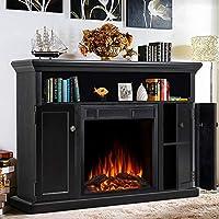 JAMFLY Electric Fireplace Inserts Freest...