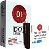 DOT-01 Brand Panasonic Lumix DC-GF10 Battery for Panasonic Lumix DC-GF10 Mirrorless and Panasonic GF10 Battery Bundle for Panasonic BLH7 DMW-BLH7