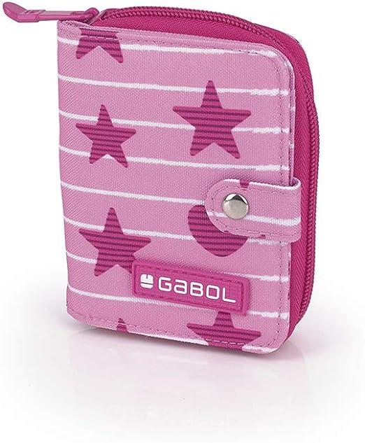 Gabol - Shiny | Billetero Rosa Infantil: Amazon.es: Equipaje