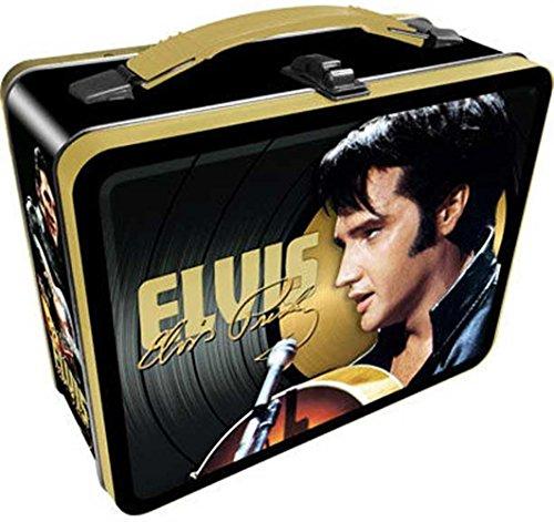 Elvis Presley The King Of Rock And Roll Vintage Style Metal Lunch - Elvis Metal