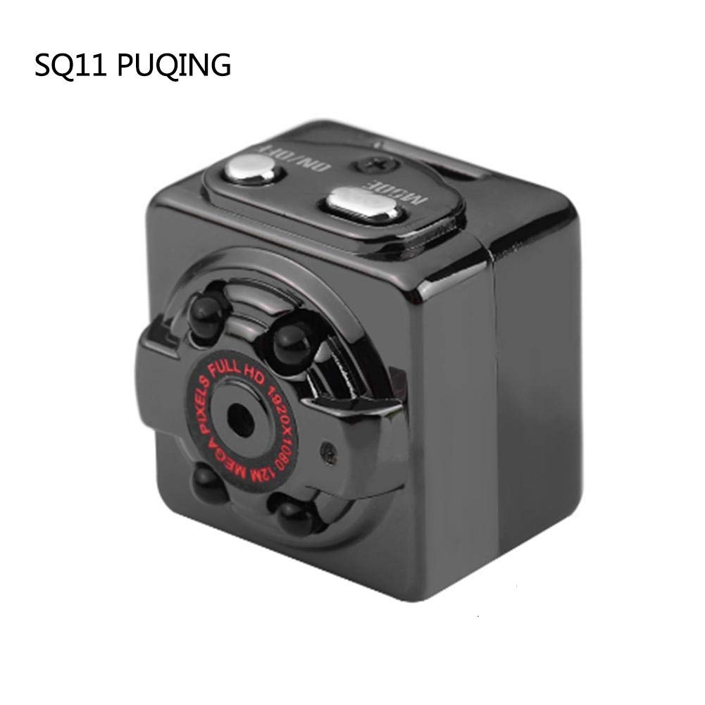Sunneey Mini Camé ra Caché e 1080P SQ11 Espion Camé ra Web Portable Sport DV Camé ra avec Vision Nocturne et Dé tection de Mouvement pour Camé ra de Surveillance de Sé curité