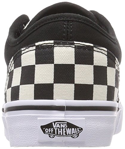 checkerboard Atwood Baskets Homme Vans Noir pIqAwAT