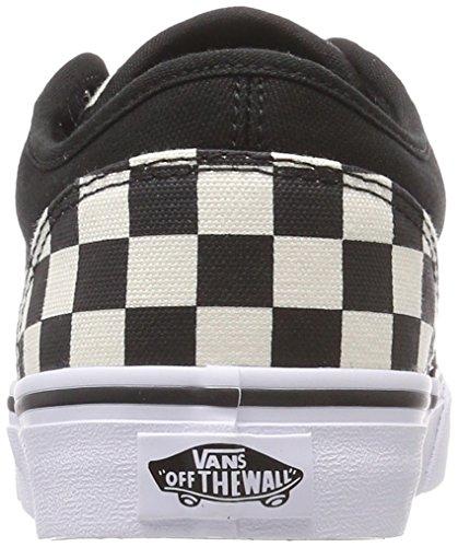 Uomo Checkerboard Nero Sneaker Atwood Vans xIHwECW