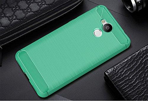 Funda Huawei Honor 6A,Funda Fibra de carbono Alta Calidad Anti-Rasguño y Resistente Huellas Dactilares Totalmente Protectora Caso de Cuero Cover Case Adecuado para el Huawei Honor 6A D