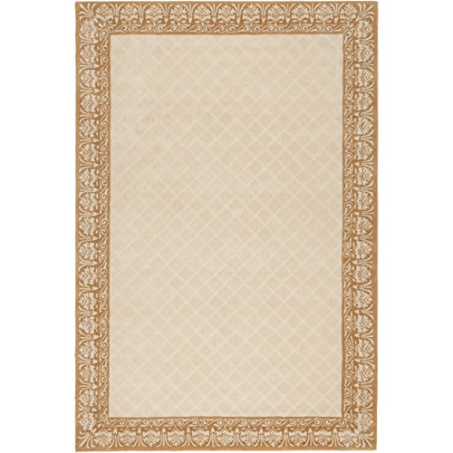 Safavieh Total Performance Collection TLP755A Ivory and Creme Area Rug, 4' x ()