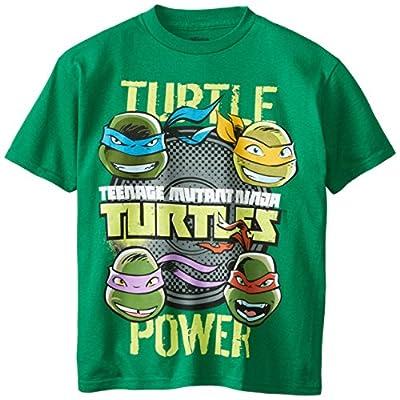 Teenage Mutant Ninja Turtles Boys' Short Sleeve Shirts