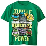 Teenage Mutant Ninja Turtles Boys' Short Sleeve Shirts