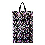 wet bag ecoable - Large Hanging Wet Dry Bag for Cloth Diapers or Laundry (Unicorn)