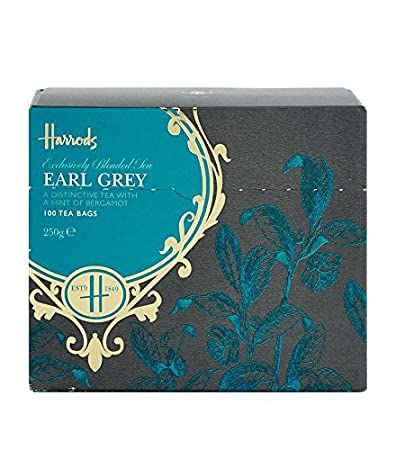 Harrods, nº 42 Earl Grey té (100 bolsas de té): Amazon.com ...