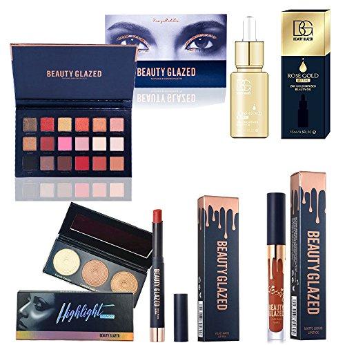 Beauty Glazed Eyeshadow Palettes Waterproof Eye Shadow Powde