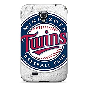 Hot Style LarfkvV1448ZxYYX Protective Case Cover For Galaxys4(minnesota Twins)