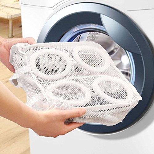 HuntGold Praktische Haushalt Schuhe Schuhe Organizer Mesh Wäsche Waschen und Trocknen Bag