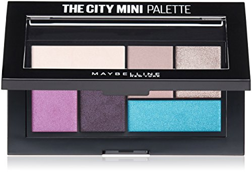 Maybelline Makeup The City Mini Eyeshadow Palette, Graffiti Pop Eyeshadow, 0.14 (0.14 Ounce Shadow)