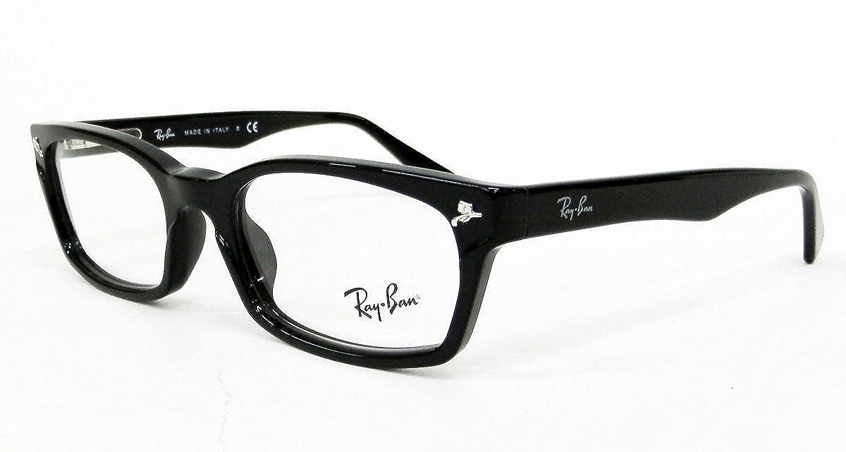 (レイバン)Ray-Ban RX5017A 2000(RB5017A 2000)ブラック 度なしPC用クリアレンズ(パソコン用)レンズ付メガネセット 【RayBanレイバン国内正規品販売認定店】   B00MK2FH4U