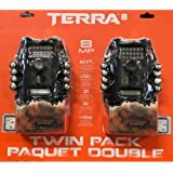 Wildgame Innovations Terra 8 TWIN PACK PAQUET DOUBLE 8 MP