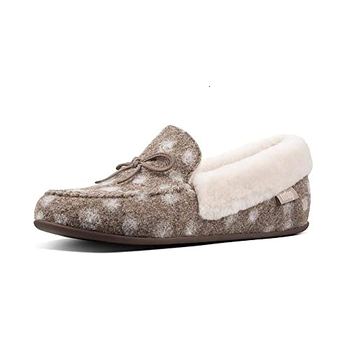 6d85219a4c2 Fitflop Women s s Clara Moccasin Dots Low-Top Slippers  Amazon.co.uk ...