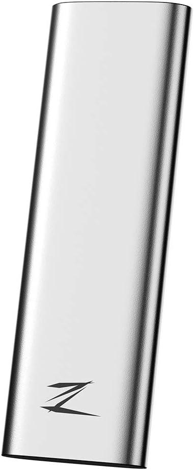 Grborn Netac 512GB Type-c USB 3.1 Disque SSD Portable Z Slim SSD Portable 30g Disque Antichoc Gen1 Haute Vitesse