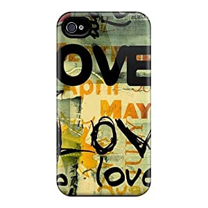 Love Case Compatible With Iphone 4/4s/ Hot Protection Case