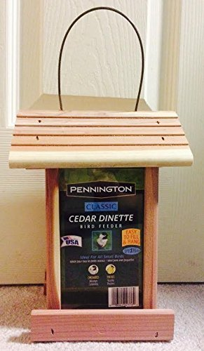 Pennington Cedar Dinette Bird Feeder product image