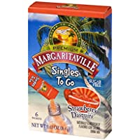 12 Pack Margaritaville Singles to Go Drink Mix Strawberry 6 Ct