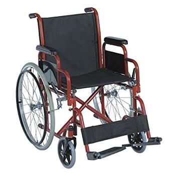 Carrozzina Pieghevole Ad Autospinta Sedia A Rotelle Per Disabili Ed Anziani Agila Volution 46