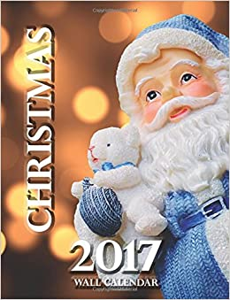 Book Christmas 2017 Wall Calendar (UK Edition)
