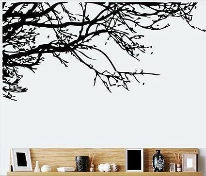 Amazon.com: TRURENDI Stunning Tree Branch Removable Wall Art Sticker ...