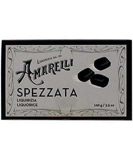 Amarelli Regaliz - Spezzata - Regaliz Puro Sin Aromas En Trozos Irregulares - 100 gr
