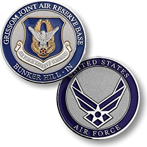 Grissom Joint Air Reserve Base Challenge Coin