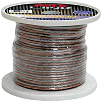 Pyle PSC14500 14-Gauge, 500 feet Spool of High Quality Speaker Zip Wire