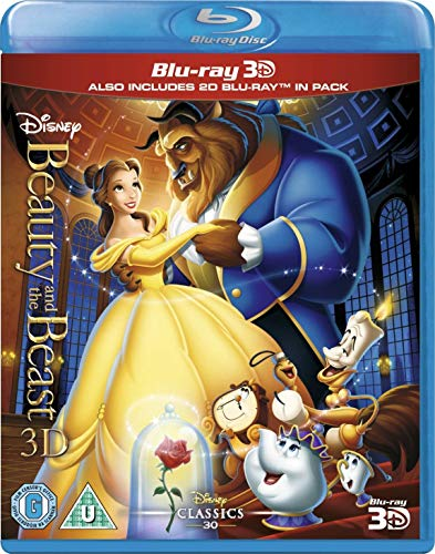 Beauty and the Beast (1992) (3-d Blu-ray + Blu-ray)