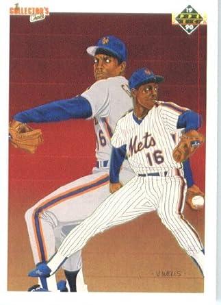 Amazoncom 1990 Upper Deck Baseball Card 62 Doc Gooden